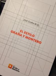 El estilo Graña y Montero. Libro escrito por el Arq. José Graña Miro Quesada